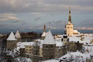 Зимний Таллинн
