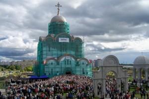 """Строительство храма в честь иконы Божией Матери """"Скоропослушница"""""""
