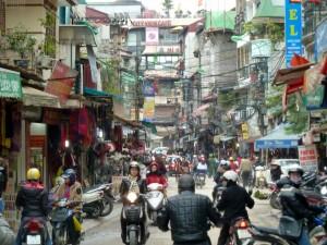 Улица старого Ханоя