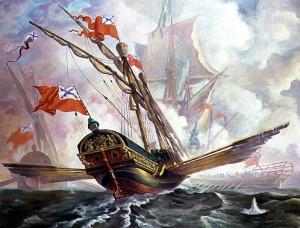 Прорыв русского гребного флота