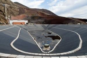 Гидроэлектростанция и нижнее водохранилище