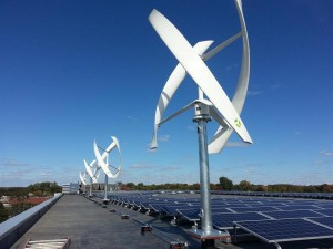 Ветровые турбины с вертикальной осью