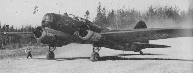 ДБ-3 на аэродроме Кагул