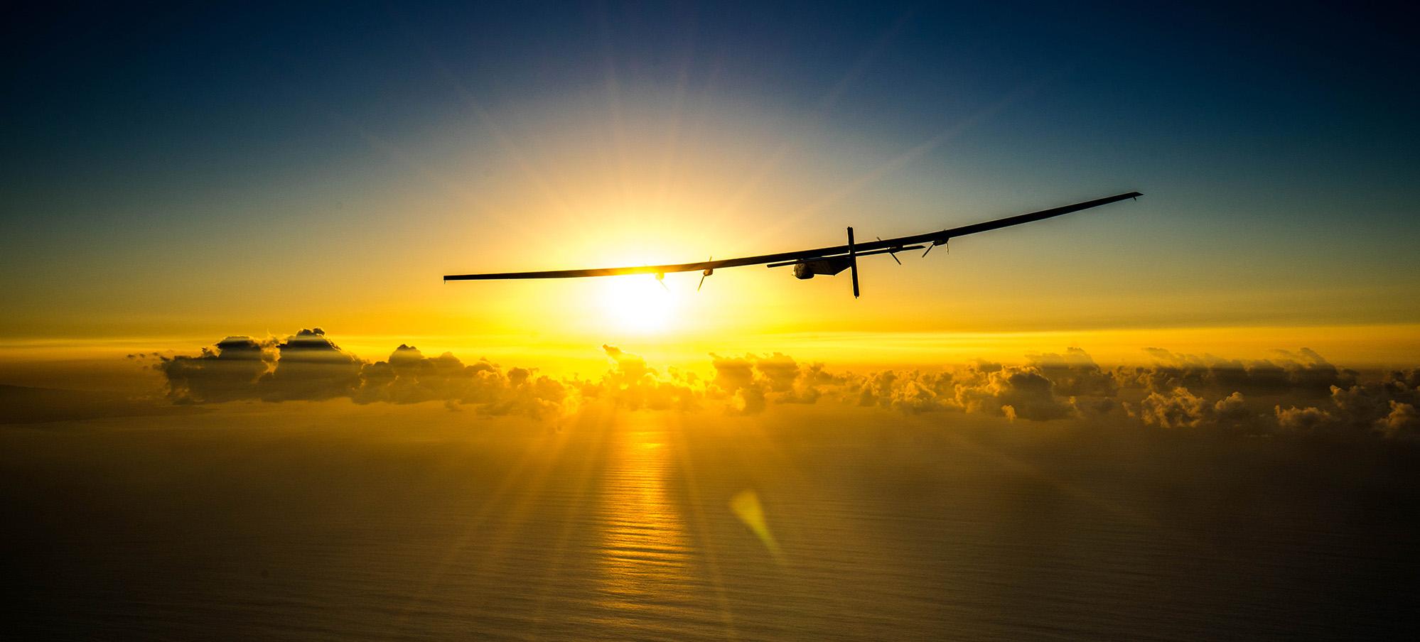 электросамолёт Solar Impulse 2