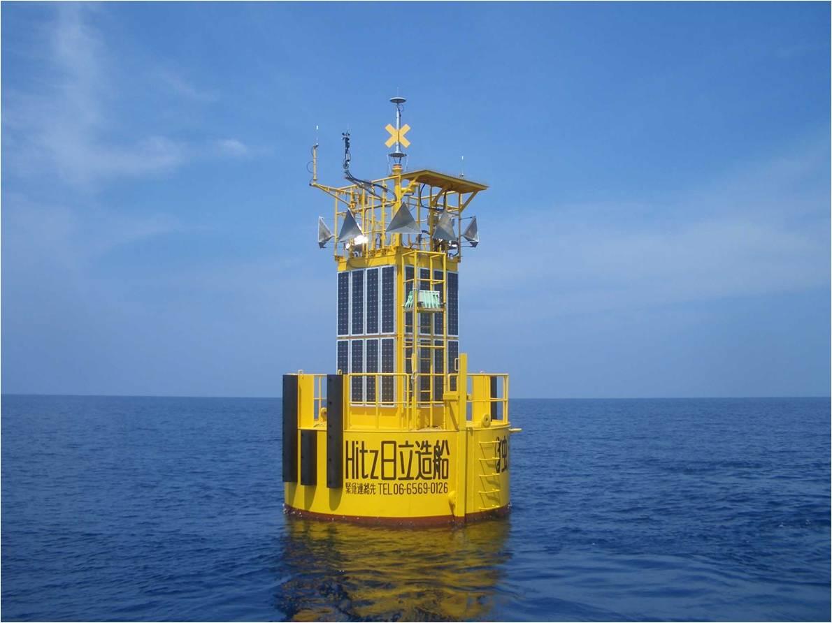 Буй японской комплексной системы океанографического мониторинга