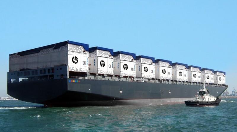 Плавающий контейнерный центр обработки данных